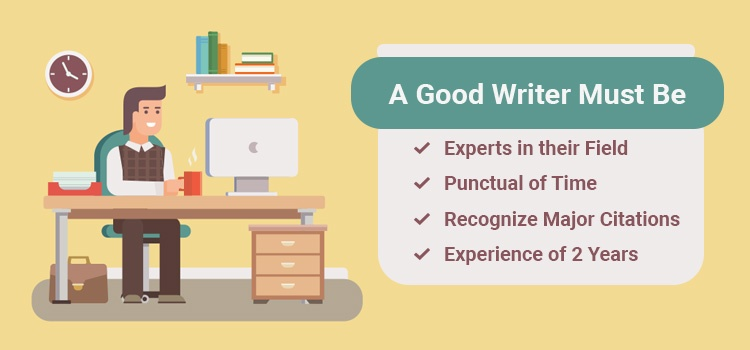 A Good Writer Must be Experienced
